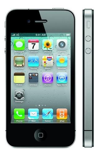 iphone 4 libre de fábrica para respuesto 8gb color negro