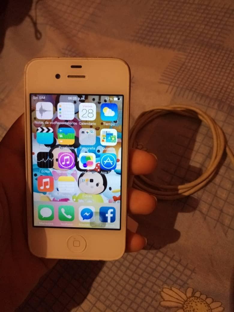 f04491d7bf7 iPhone 4 Model A1332 - Bs. 275.000,00 en Mercado Libre
