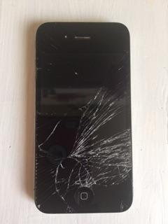 iphone 4 telcel pantalla estrellada