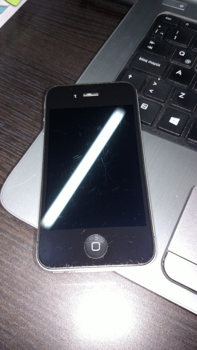 f43a0d66fd5 iPhone 4 (usado) - $ 1,500.00 en Mercado Libre