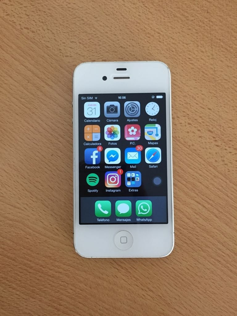 54a2fcf54fc iPhone 4 Usado - $ 2.000,00 en Mercado Libre