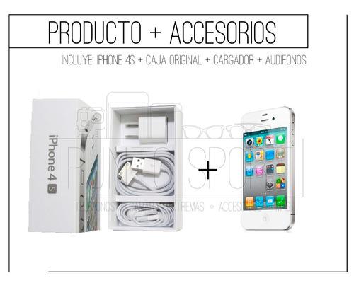 iphone 4s 16gb nuevos,liberados,garantia.