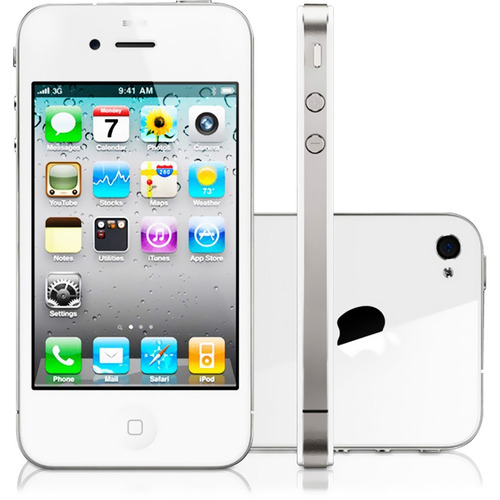 iphone 4s 16gb original apple branco 3g desbloqueado vitrine