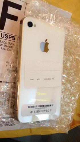 iphone 4s 8gb nuevos y originales lea la descripción
