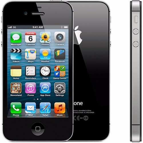 iphone 4s 8gb original apple preto 3g desbloqueado vitrine