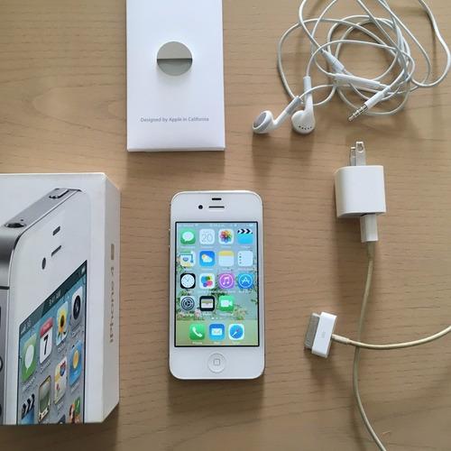 iphone 4s de 8 gb en caja-apple como nuevo bandas libres