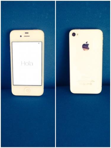 iphone 4s (incluye cargador y manos libres originales)