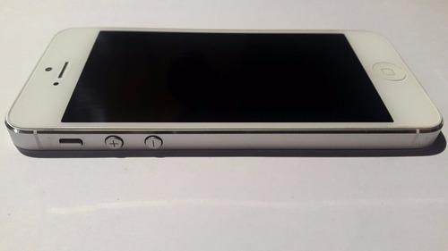 iphone 5 16gb blanco intacto muy poco uso