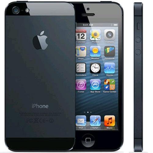 iphone 5 16gb preto apple 3g 8mp wifi nacional anatel
