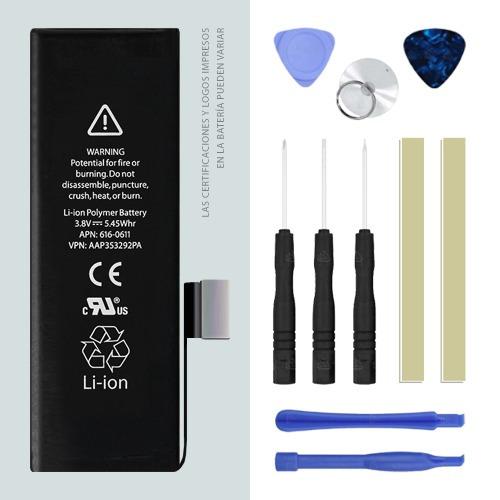 iphone 5 5s 5c 4 4s pila bateria calidad original heramienta