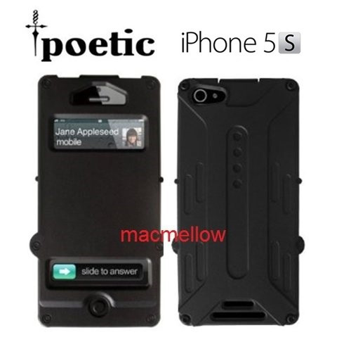 iphone 5 5s funda protector anti shock case flip cover
