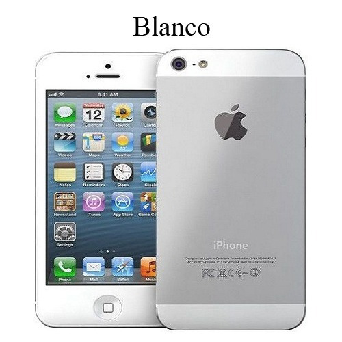 iphone 5  liberados 16 gb blancos