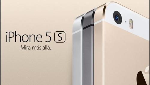 iphone 5 s 5s 32 gb 4g lte libre toda empresa nuevo sellado