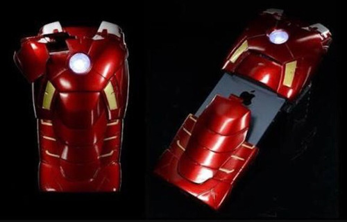 iphone 5/5s, armadura iron man. marvel original
