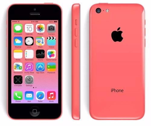 iphone 5c 16gb liberados nuevos celular + vidrio templado