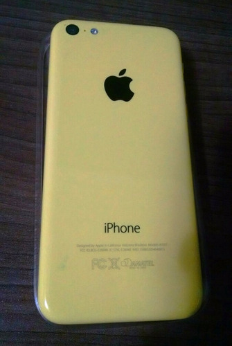 iphone 5c 8gb apple 4g amarelo original nota fiscal seminovo