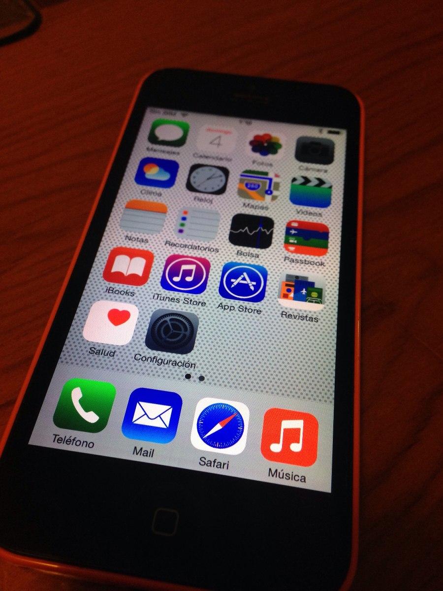 Iphone 5c 8gb Pequeo Detalle Sper Precio 190000 En Mercado Libre Cargando Zoom