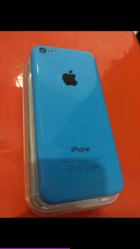 iphone 5c azul 16gb, com defeito