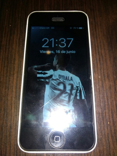 iphone 5c blanco c/accesorios 16 gigas