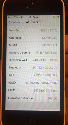 iphone 5c de 16 gb