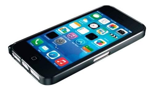 iphone 5c funda bumper love mei negro curved buckle aluminio