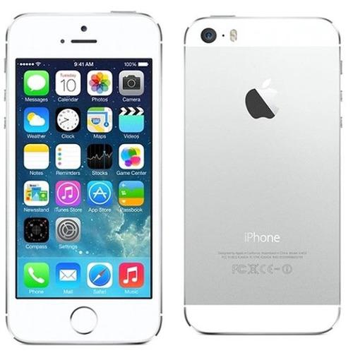 iphone 5s, 16 gb. blanco