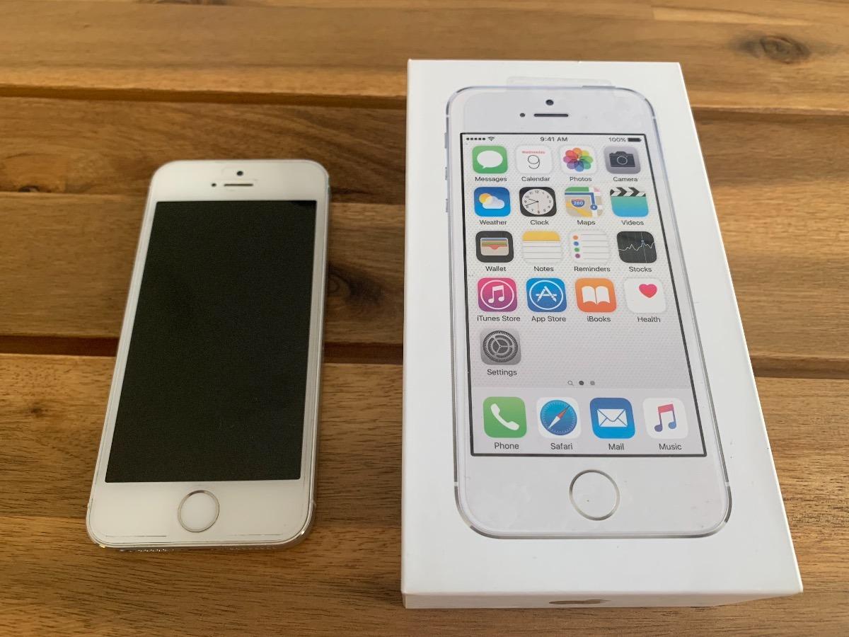 bd59f57c999 iphone 5s 16 gb blanco perfecto estado con caja y accesorios. Cargando zoom.