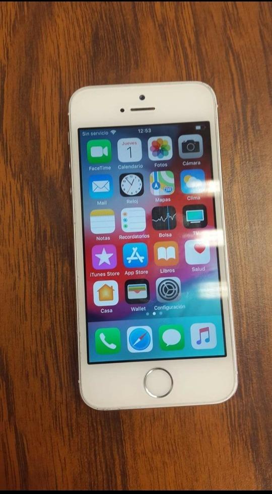 a542bec9054 iPhone 5s 16 Gb Libre - $ 1,850.00 en Mercado Libre