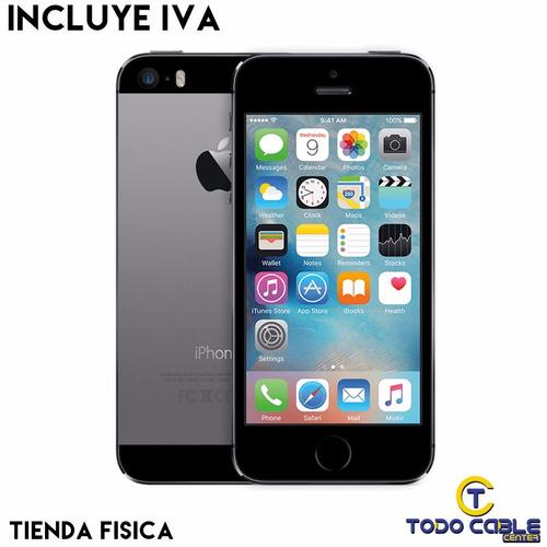 iphone 5s 16gb 100% apple original refurbished con garantia
