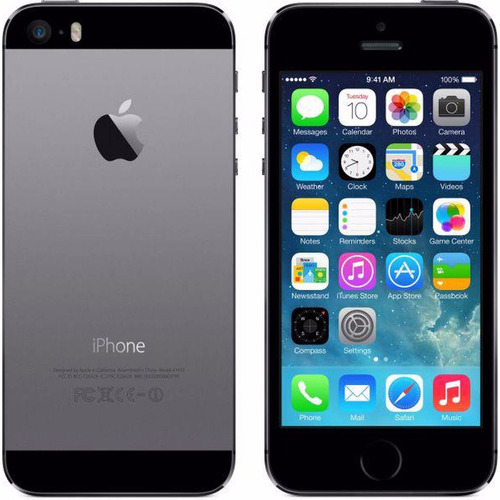 iphone 5s 16gb apple cinza, dourado, prata + capa e pelicula