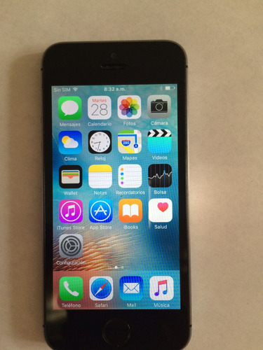 iphone 5s 16gb apple  telcel movistar todos