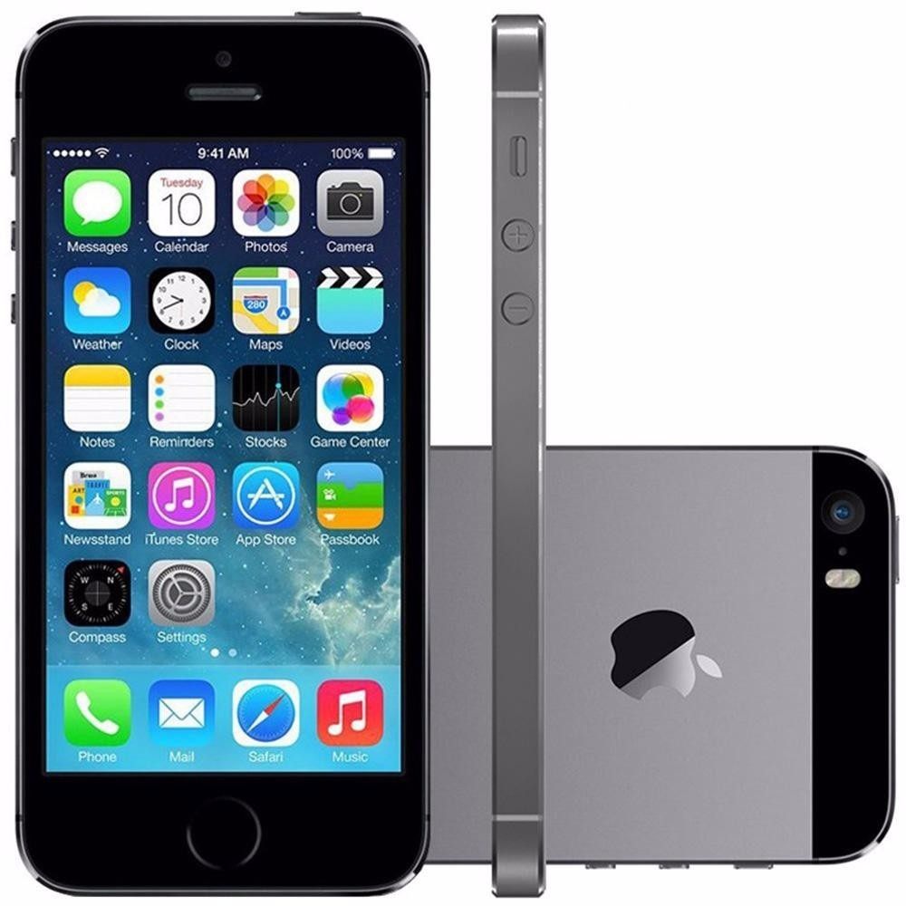 iphone 5s 128gb iphone 5s 16gb cinza espacial apple 4g desb original 1114