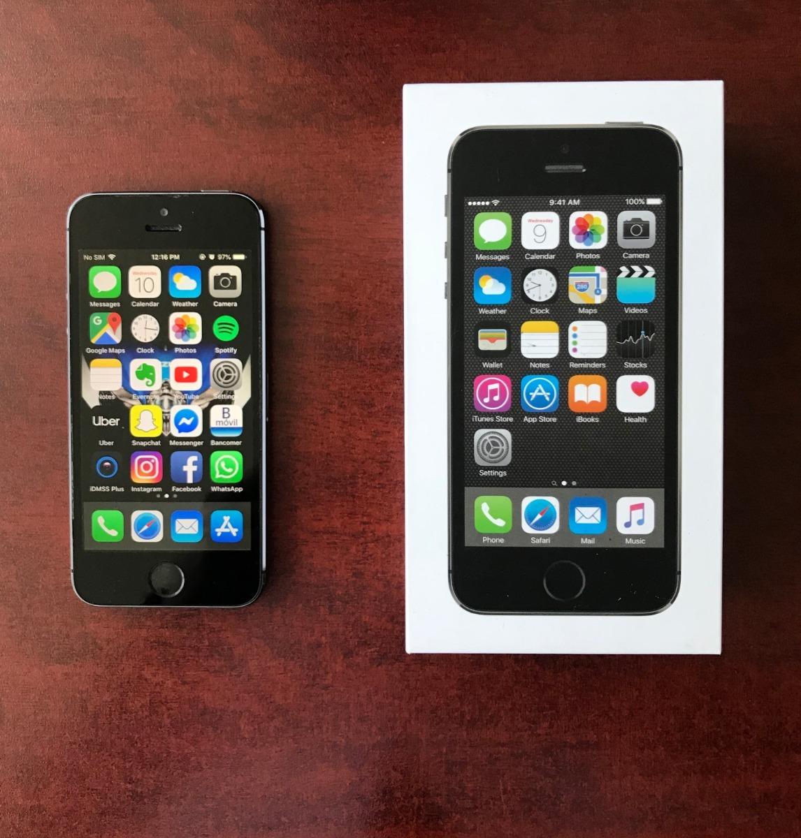 4b9d41410fa iPhone 5s 16gb Libre De Fábrica Muy Cuidado! - $ 2,100.00 en Mercado ...