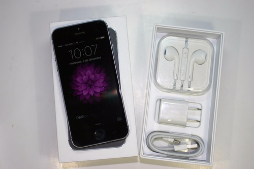 iphone 5s 16gb libre telcel att movistar dorado plata gris