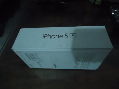 iphone 5s 16gb lte 4g negro space gray liberado + forro