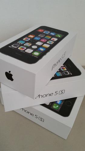 iphone 5s 16gb nuevo en caja libre de fabrica negro