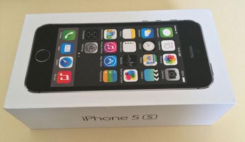 iphone 5s 16gb space gray en su caja original.