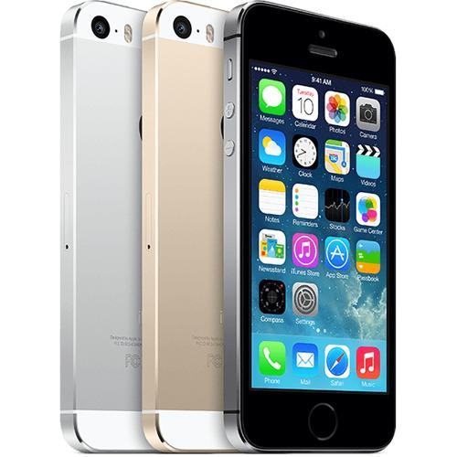 iphone 5s 32gb c/ acessórios, nf-e + brindes - de vitrine