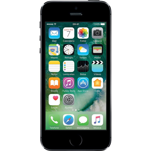 iphone 5s 32gb cinza espacial anatel garantia 1 ano 12x