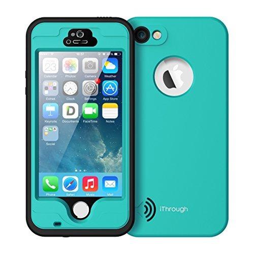 iphone 5s / 5 / se caso impermeable, ithrough subacuático, p