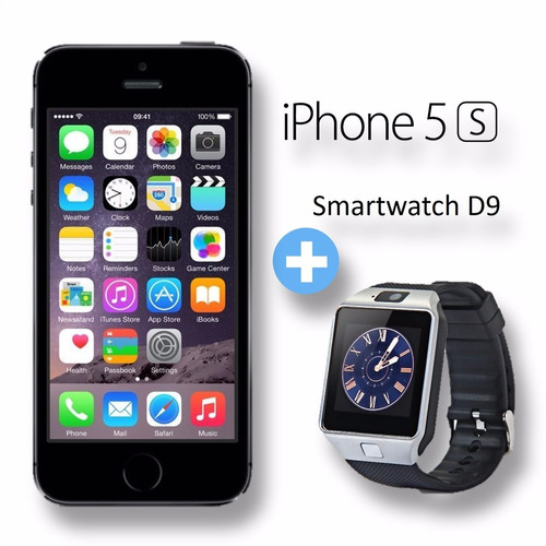 iphone 5s 64gb 4g lte factura y garantía pocas unidades + d9