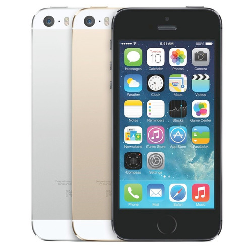 iphone 5s 64gb 4g lte impecables + d9