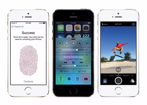 iphone 5s apple 16gb 4g original de vitrine