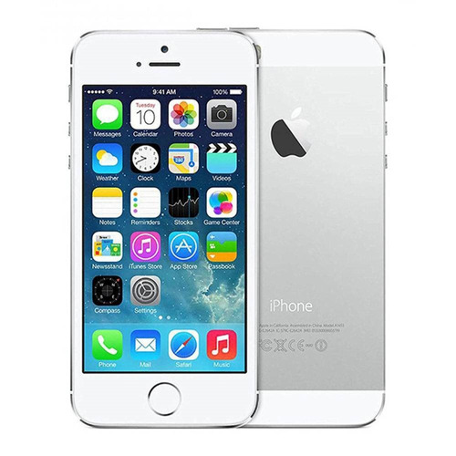 fc0297778 iPhone 5s Apple 64gb Tela De 4 Ios7 Câmera 8mp Nf-e | Novo - R ...