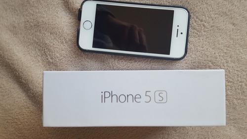iphone 5s blanco 32 gb. excelente oportunidad