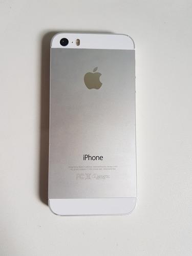 iphone 5s branco/prata 16gb