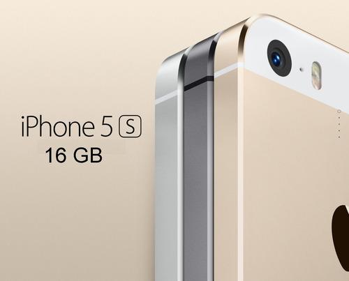 iphone 5s de 16 gb de exhibicion  + regalo cargador original
