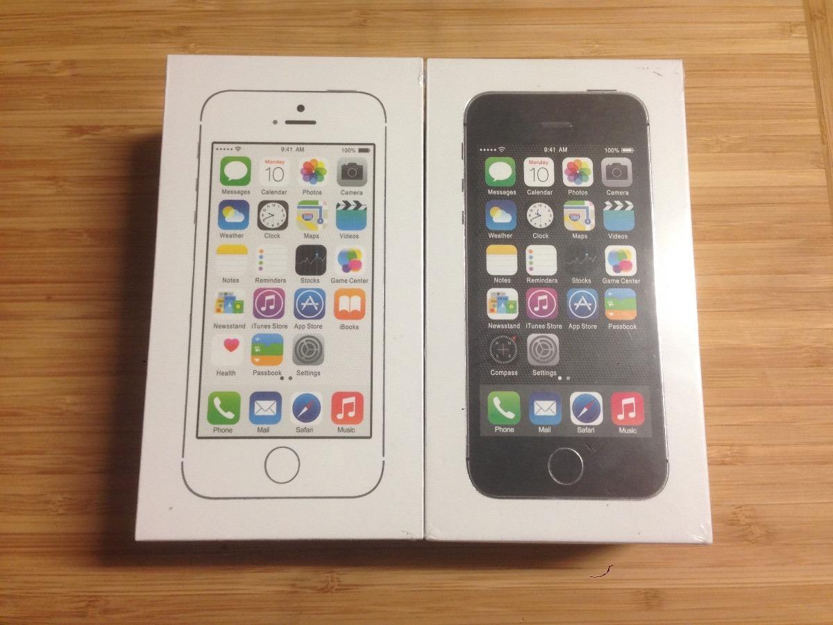 bb234cad26d iPhone 5s De 32gbs Nuevo En Caja Sellada Liberado - $ 4,199.00 en ...