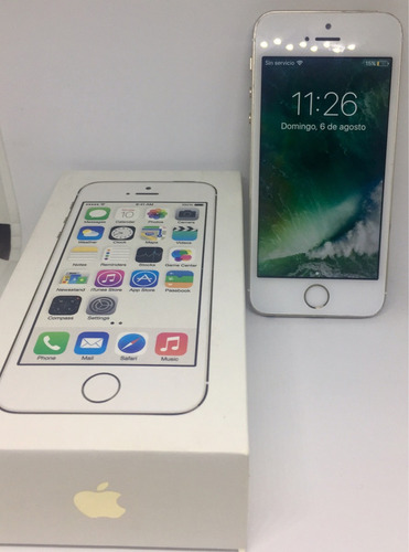 iphone 5s dorado 16gb perfecto estado