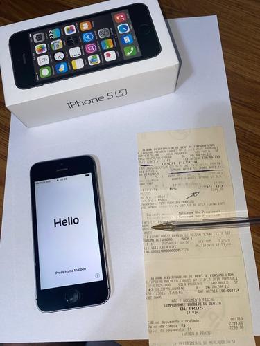 iphone 5s impecável com caixa e nf